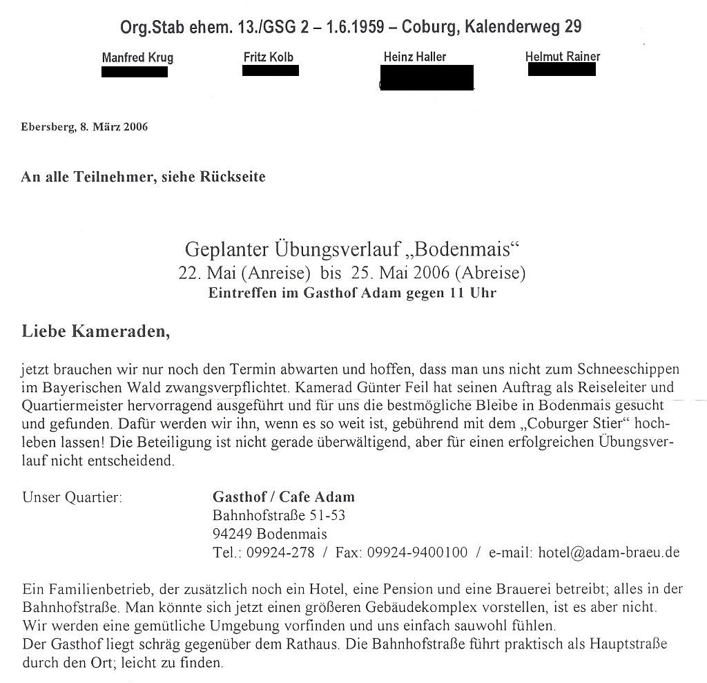 Bodenmais 2006